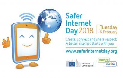 Dia Mundial da Internet Segura 2018 – 06 de Fevereiro