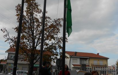 Cerimónia do Hastear da Bandeira Verde -E.B. Custóias