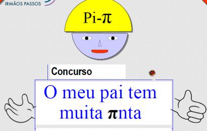 """Concurso de Matemática: """" O meu Pai tem muita πnta """""""
