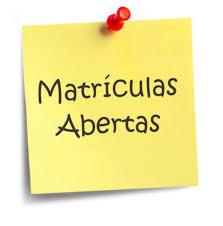 Matrículas 2020/21- Pré-Escolar e 1º Ano (4 de maio a 30 de junho)