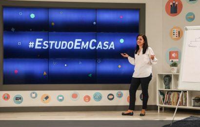 #EstudoEmCasa a partir de 20 de abril (09h às 17h50)