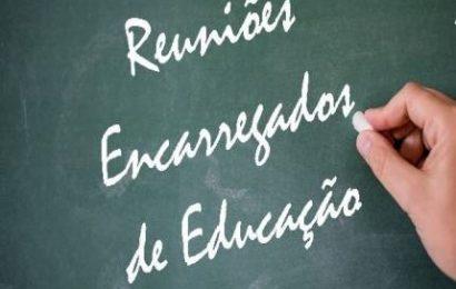 Calendário das reuniões com os Encarregados de Educação