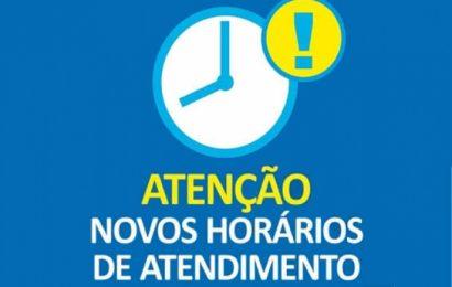 Serviços Administrativos – horário de atendimento