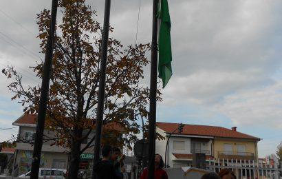 Cerimónia do Hastear da Bandeira Verde -E.B. Custóias