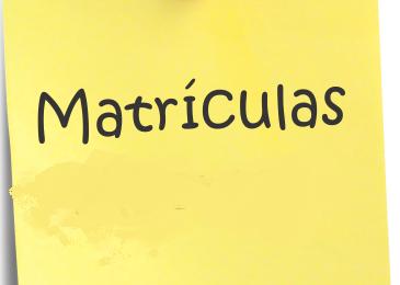 Matrículas 2020_2021 – Lista de alunos que requerem a matrícula na Pré-Escolar e 1º ano